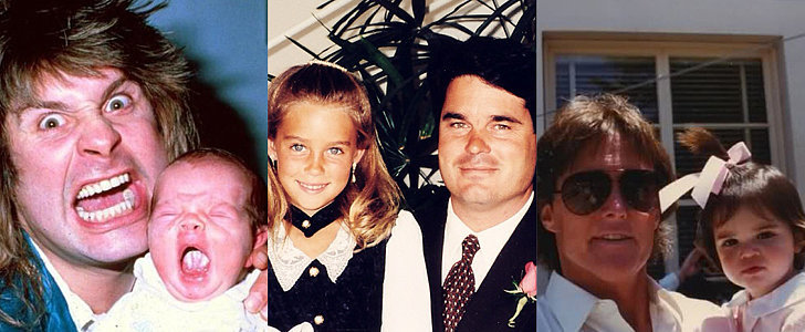 See the Stars' Most Adorable Throwback Snaps With Their Dads
