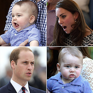 Prince George's Facial Expressions Just Like the Royals