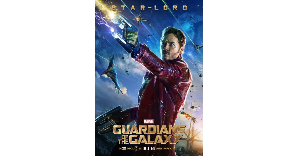 Chris Pratt as Star-Lord | Can We Talk About How Sexy ...
