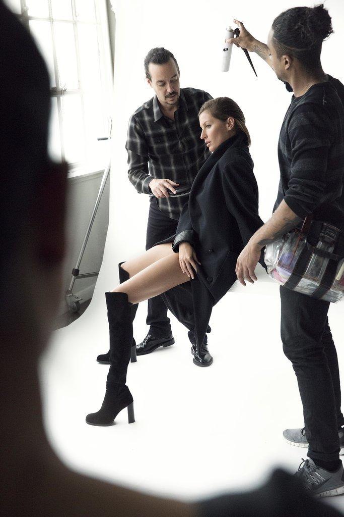 Gisele Bündchen's Fall 2014 Stuart Weitzman Campaign