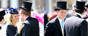 Prince Harry Breaks Out His Most Dapper Flirting Skills