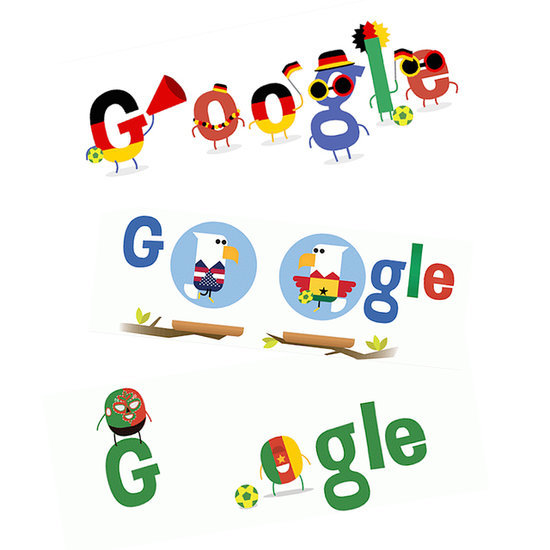 World Cup Google Doodles 2014