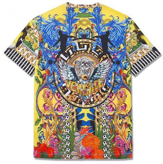 Popular Versace T-Shirts Versace Loves Brazil