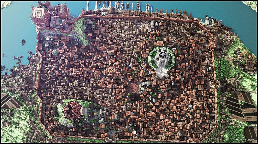 Minecraft x King's