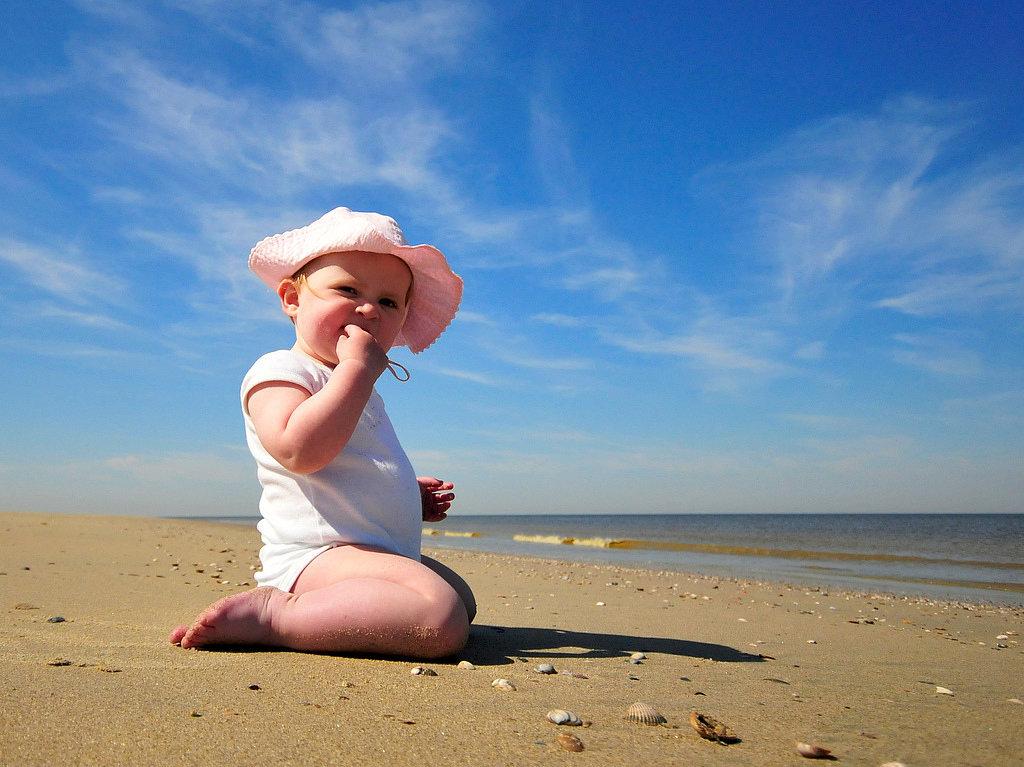 She Hunts Seashells by the Seashore