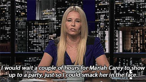 When She Planned a Night Out With Mariah Carey