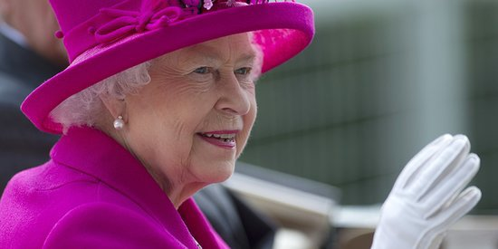 Queen Elizabeth Is Tickled Pink At The Royal Ascot