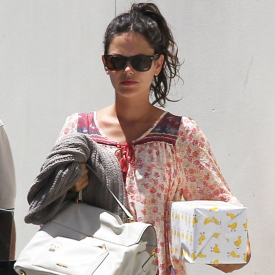 Pregnant Rachel Bilson Goes to a Birthday Party | Pictures