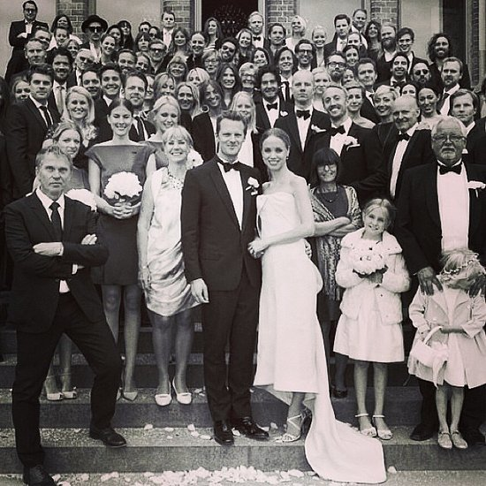 Elin Kling Wedding Dress Picture