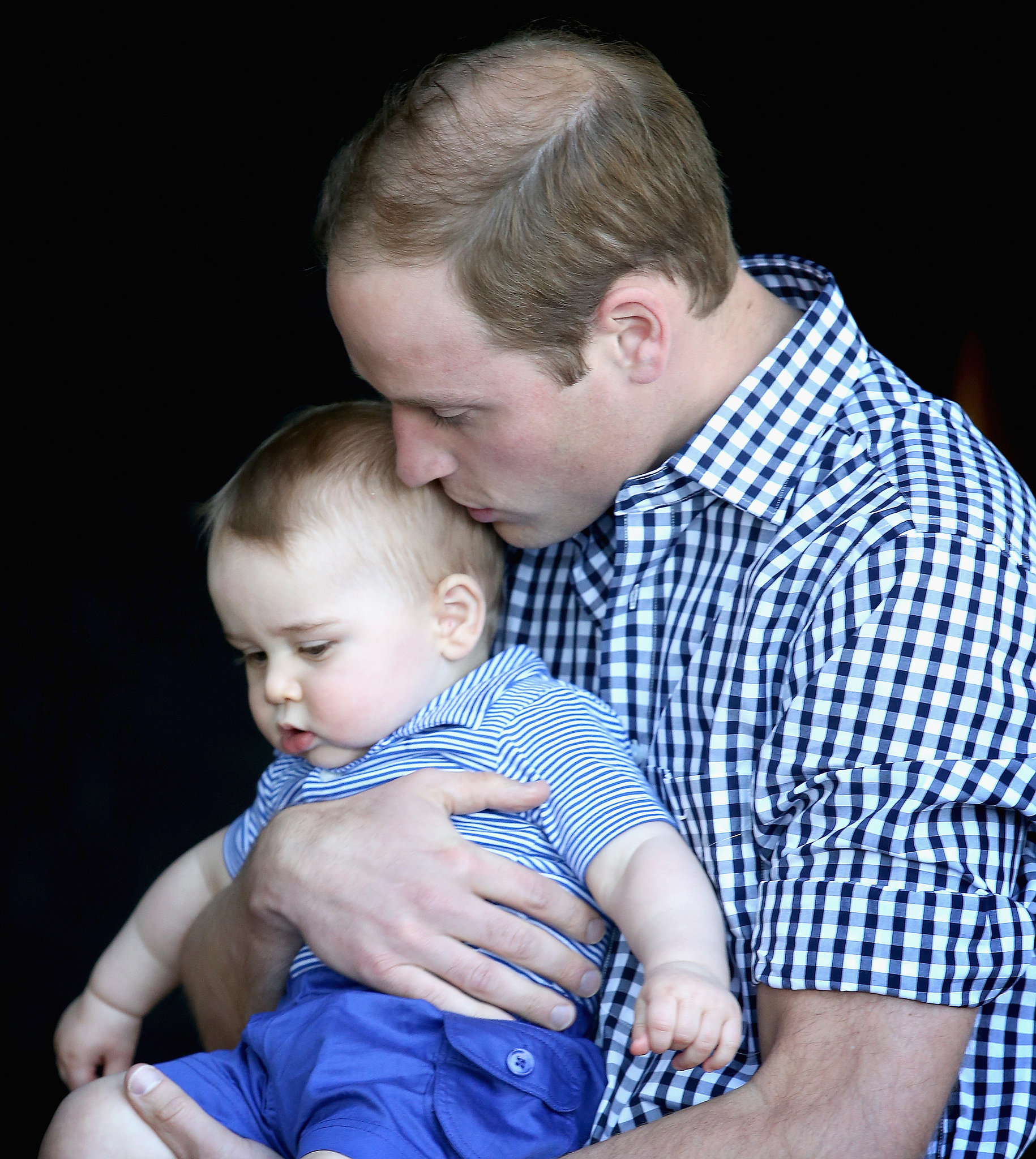 When He Got Kisses From Prince William