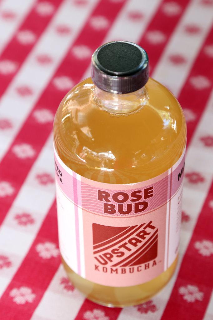 Upstart Kombucha Rose Bud