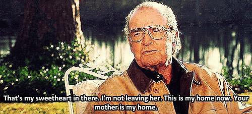 When Older Noah Tells Their CHILDREN That Allie Is His Home