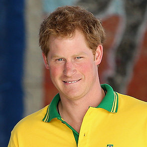 Prince Harry Playing Soccer in Brazil