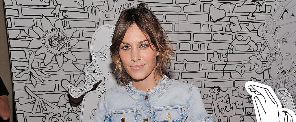 Jean-ius! What You Can Expect to See From Alexa Chung's New Denim Collab