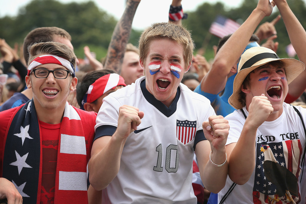 USA Fans Everywhere Are Going Absolutely Nuts Over the World Cup