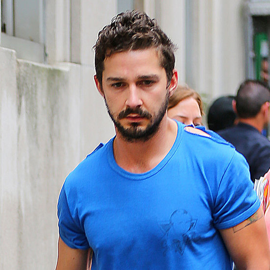 Shia LaBeouf After NYC Arrest 2014