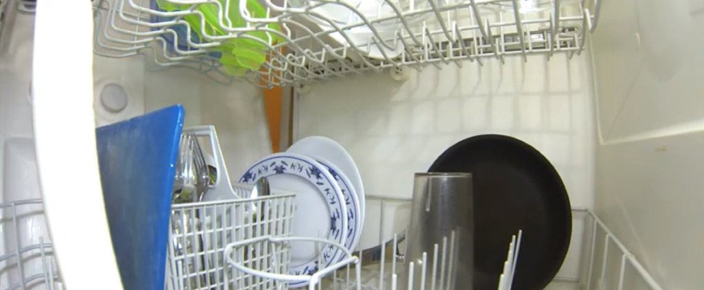 This Video of the Inside of a Dishwasher During a Run Cycle Is Oddly Fascinating