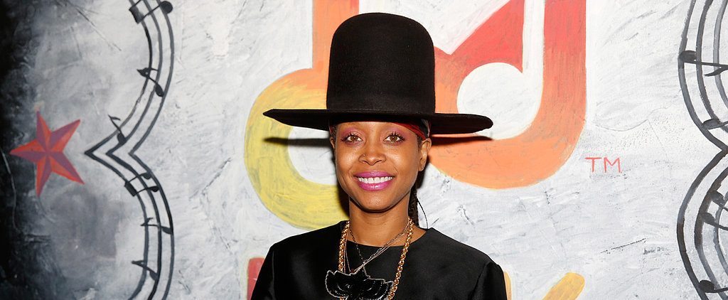 Erykah Badu Tries to Steal a Kiss From a Reporter on Live TV