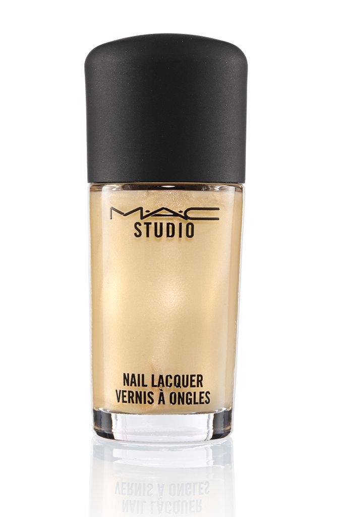 MAC Liquid Pigment Top Coat in Gold Pearl ($12)