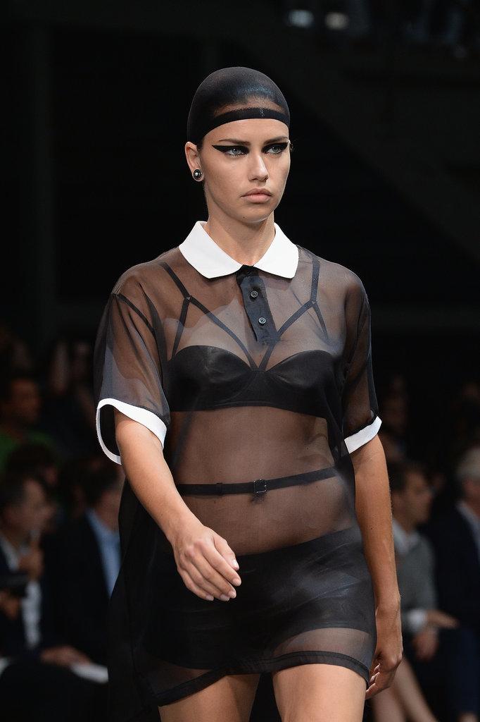 Adriana Lima at Givenchy