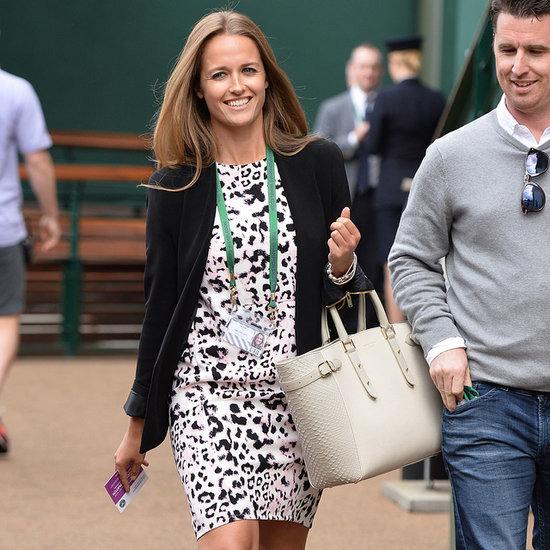 Andy Murray's Partner Kim Sears Style At Wimbledon 2014