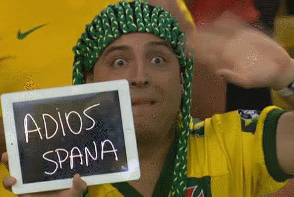 This Hilarious Chilean Fan That Hates Spain
