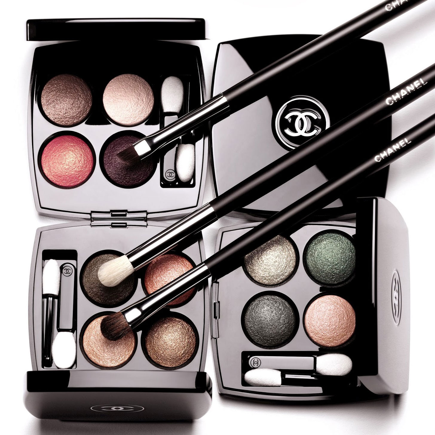 Jayded dreaming beauty blog : chanel les 4 ombres multi-effect quadra eyeshadow collection - now available on chanel.com.