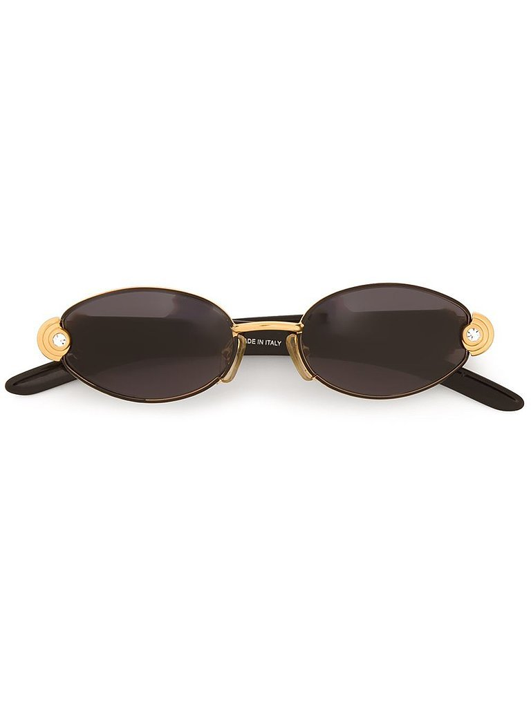Gianfranco Ferre Oval Frame Sunglasses