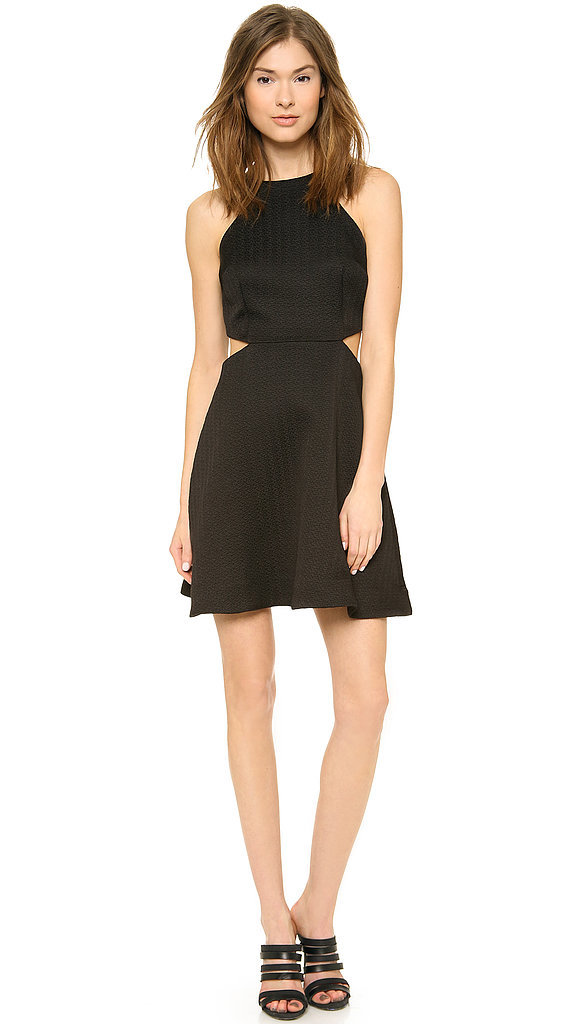 Club Monaco Black Cutout Dress