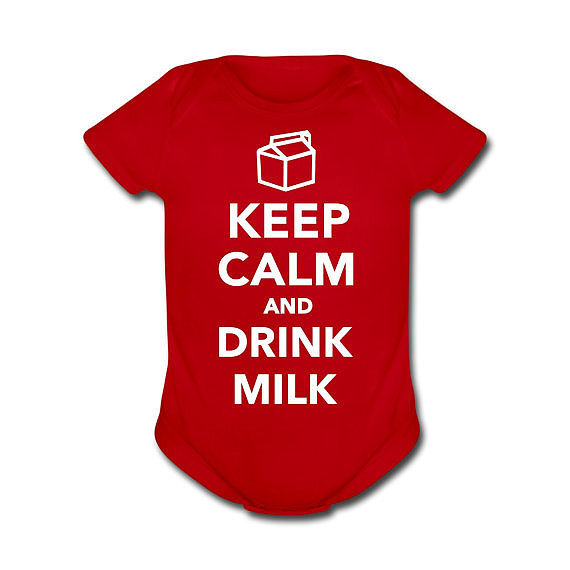 Keep Calm and Drink Milk