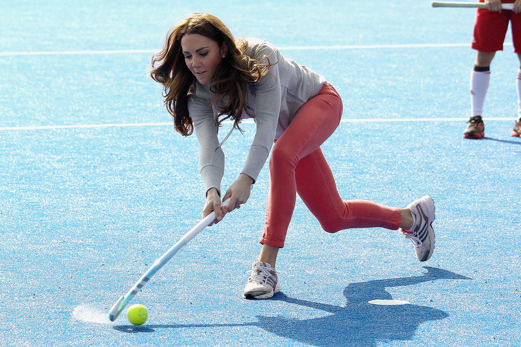 """Ha! I'm not too princess-y to whoop your bum in field hockey, missy."""