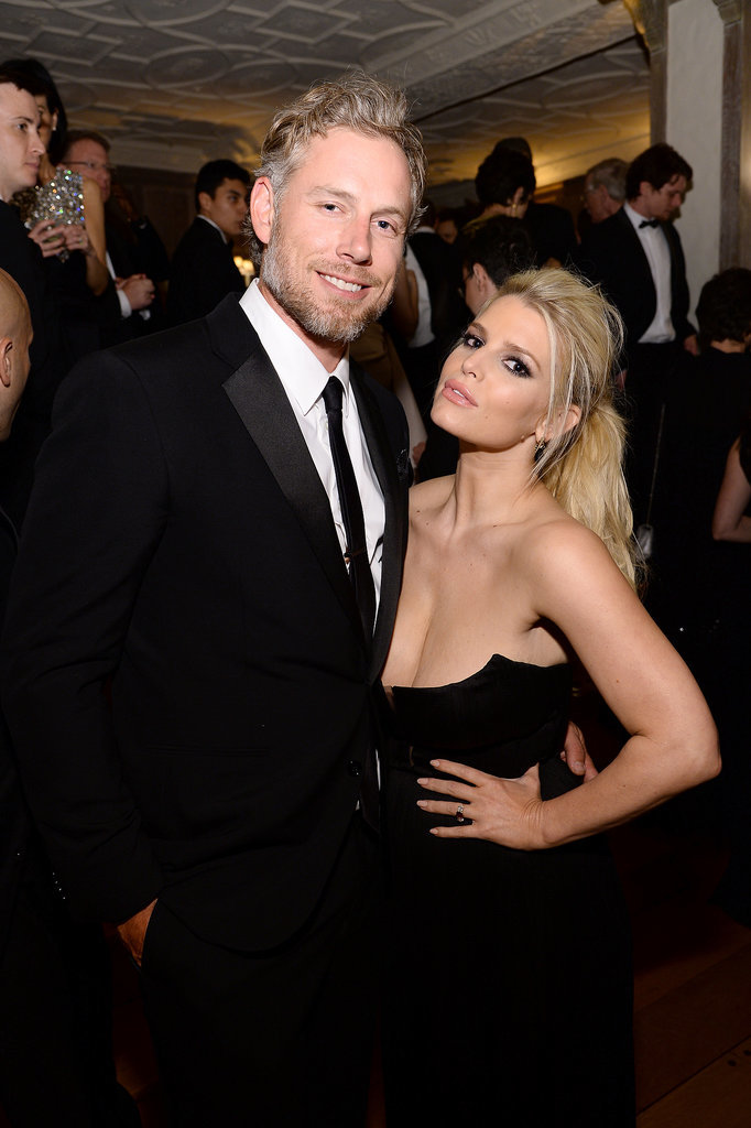 Eric and Jessica wore matching black ensembles for a White House Correspondents' Dinner event in May 2014.