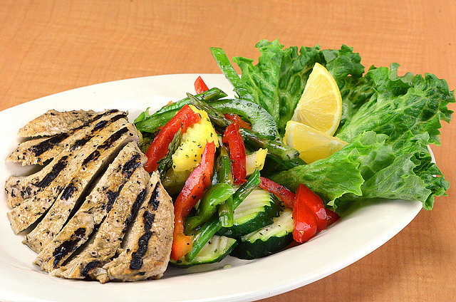 Grilled Chicken and Vegetable Salad