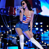 Celebrities' Fourth of July Outfits