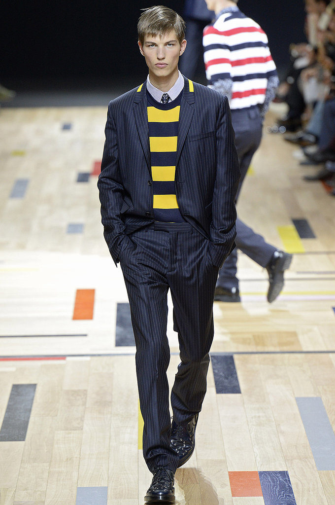 Dior Homme's Stripes