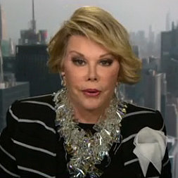 Joan Rivers Ends CNN Interview With Fredricka Whitfield