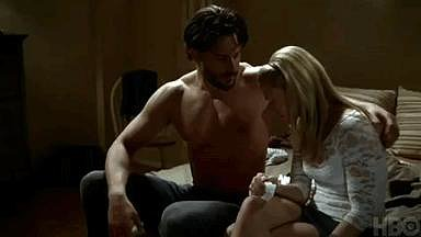 When He Comforts Sookie, and It's Magic