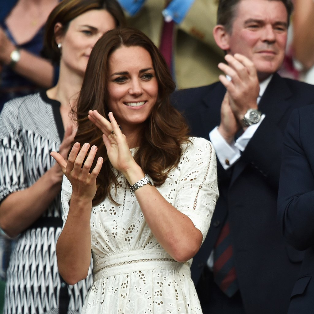 Celebrity Style at Wimbledon 2014