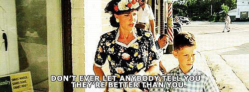 When Mrs. Gump Gives Forrest Advice