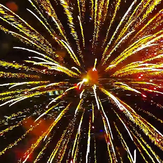 Fireworks Drone Video