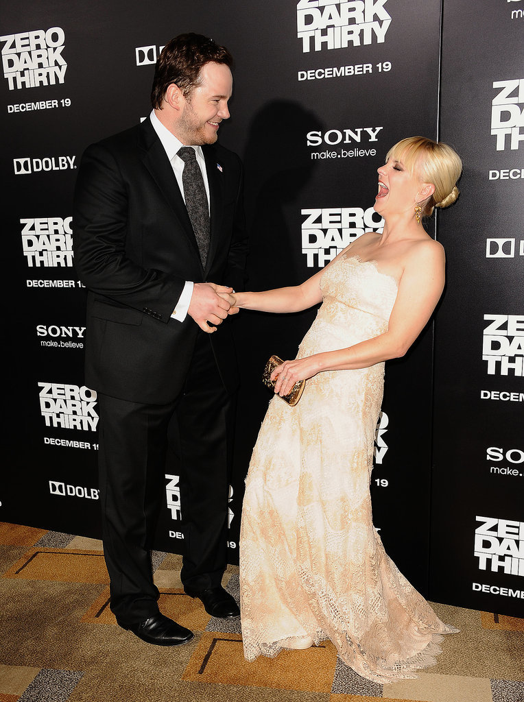 Anna Faris and Chris Pratt Are Anything but Boring on the Re