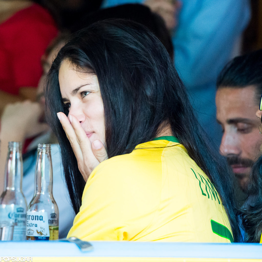 Even Victoria's Secret Models Were Upset About Brazil's World Cup Loss