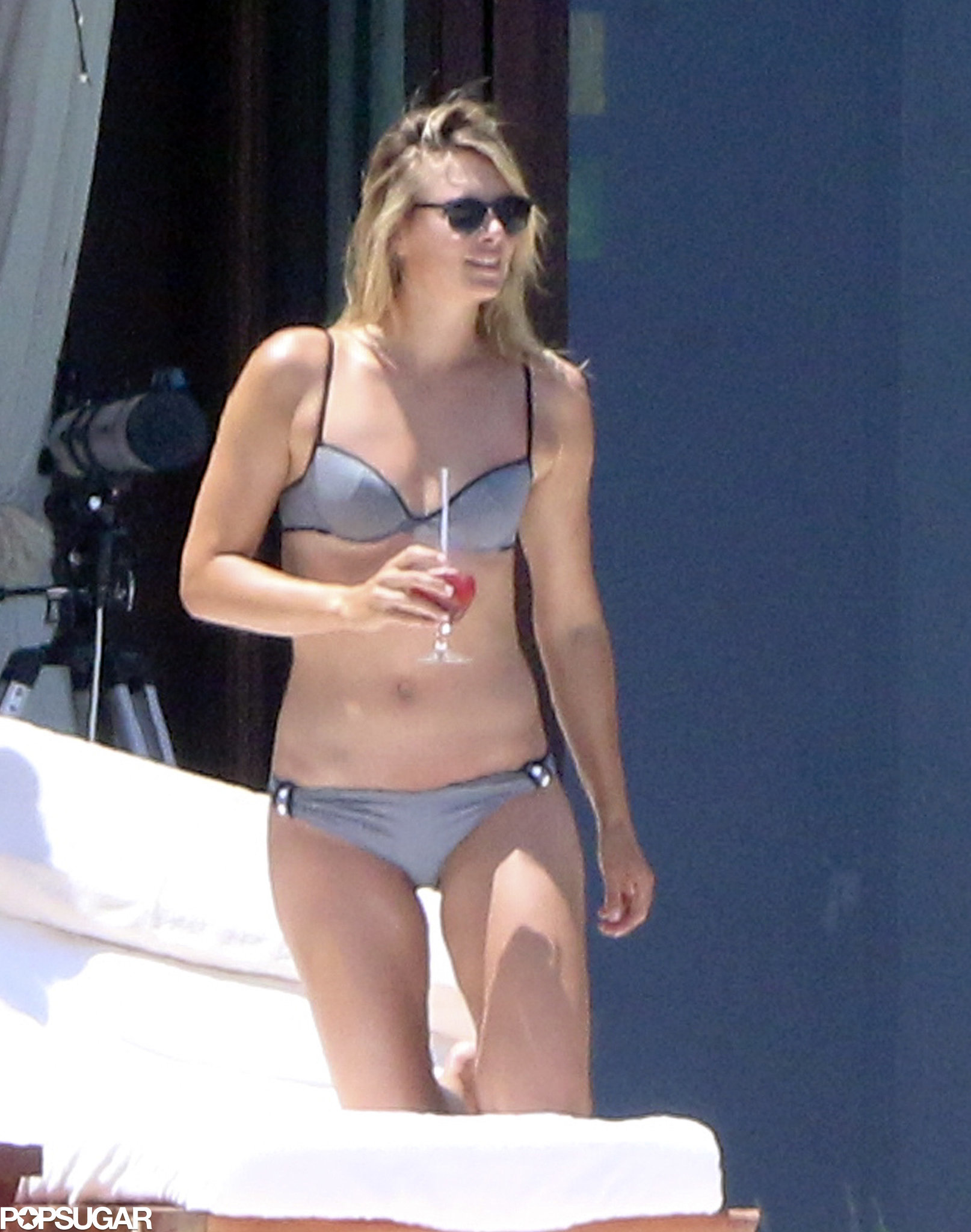 Maria Sharapova Slips Into a Bikini For Her Post-Wimbledon Getaway