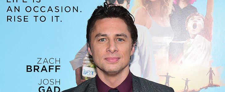 "Why Zach Braff Told Kate Hudson to ""Forget the Bullsh*t"" For Wish I Was Here"