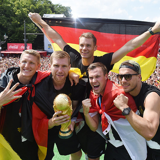 Germany's 2014 World Cup Victory Celebration | Pictures