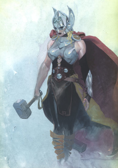 Marvel's New Thor Is a Woman!