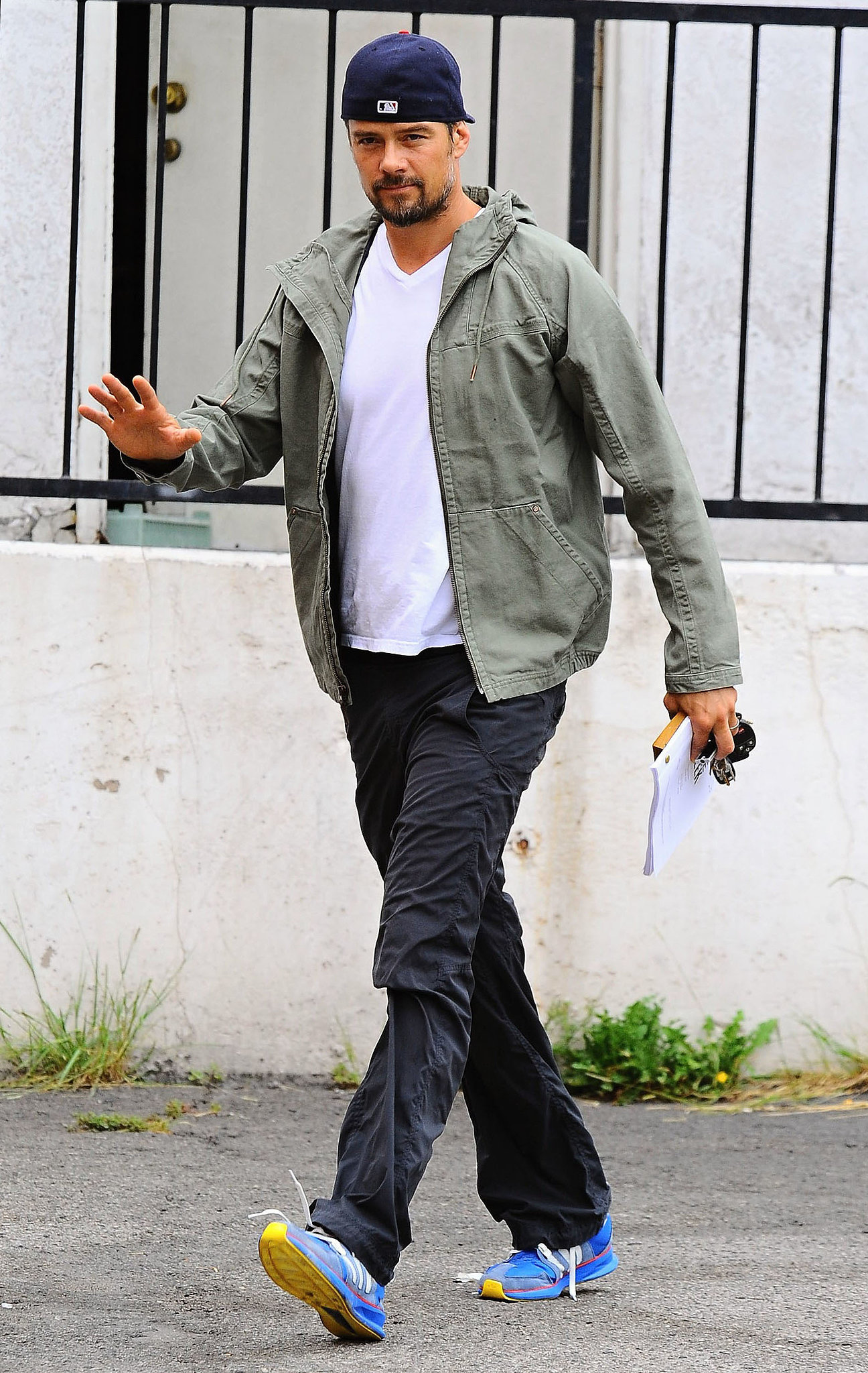 Josh Duhamel stepped out in LA on Tuesday.