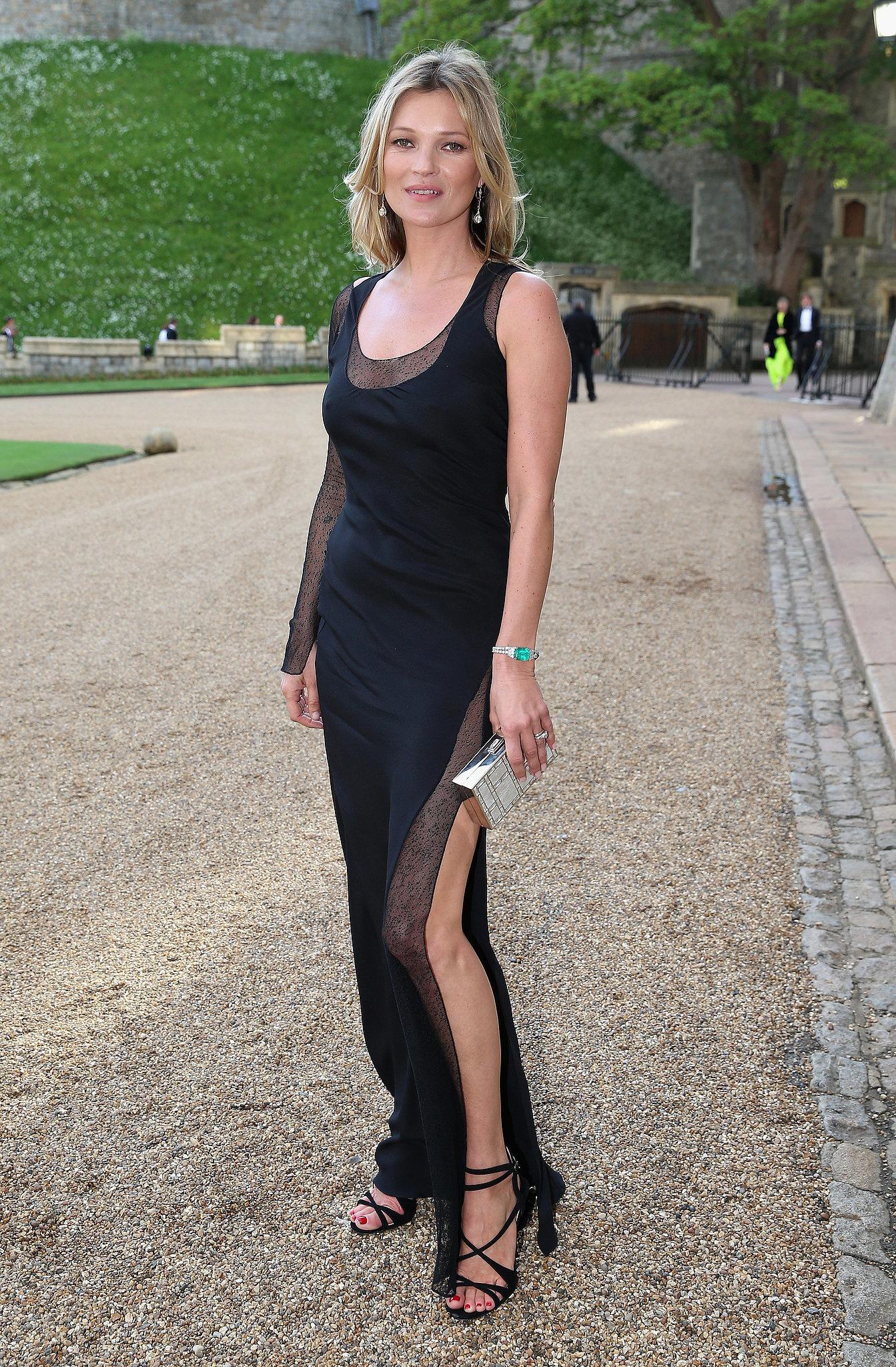 Always make an effort to look effortless, just like Kate Moss.