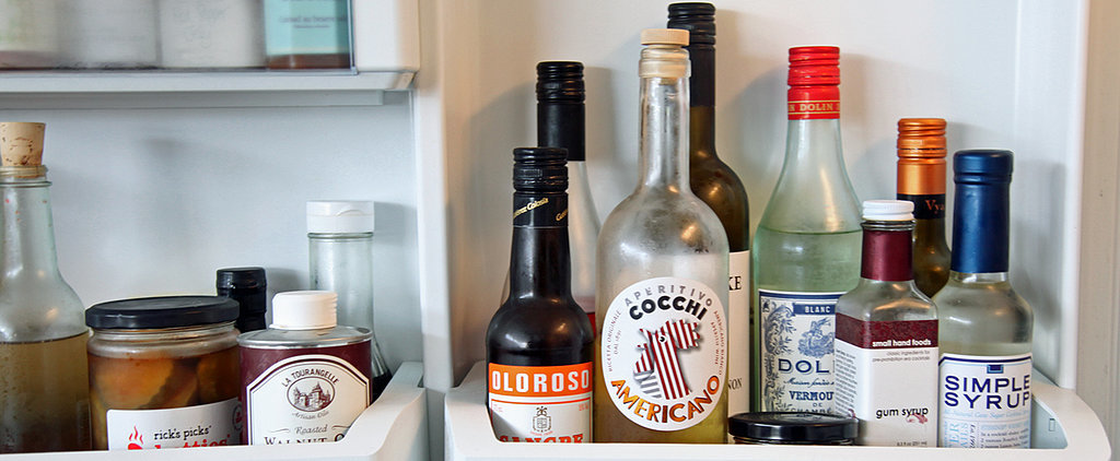 The Bar Cart Staples You Should Be Refrigerating but Probably Aren't