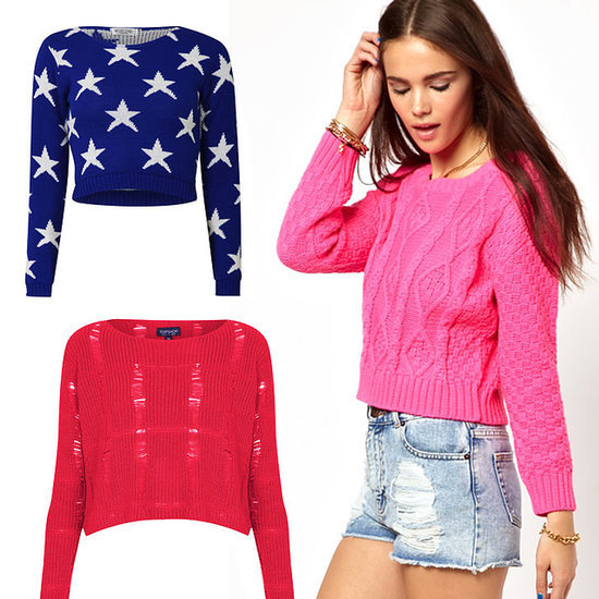 Cropped Knits and Jumpers to Buy Online